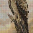 Eagle cross stitch pattern in pdf DMC