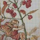 Flower fairy 25 cross stitch pattern in pdf DMC