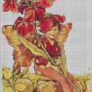 Flower fairy 26 cross stitch pattern in pdf DMC