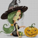 Halloween 2 cross stitch pattern in pdf DMC