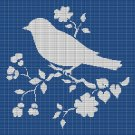 BIRD AND FLOWERS CROCHET AFGHAN PATTERN GRAPH