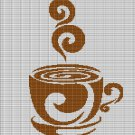 COFFEE 2 CROCHET AFGHAN PATTERN GRAPH