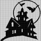 HALLOWEEN HOUSE CROCHET AFGHAN PATTERN GRAPH