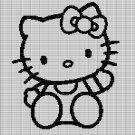 HELLO KITTY 2 CROCHET AFGHAN PATTERN GRAPH