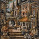 Old Stairs cross stitch pattern in pdf DMC