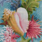 In the Ocean cross stitch pattern in pdf DMC