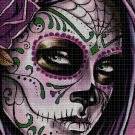 Sugar Skull 3 cross stitch pattern in pdf DMC