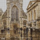 Cathedral cross stitch pattern in pdf DMC