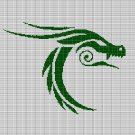 CELTIC DRAGON 2 CROCHET AFGHAN PATTERN GRAPH