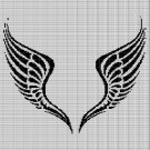 ANGEL WINGS 2 CROCHET AFGHAN PATTERN GRAPH