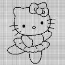 HELLO KITTY BALLET CROCHET AFGHAN PATTERN GRAPH