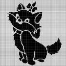 CAT 2 CROCHET AFGHAN PATTERN GRAPH