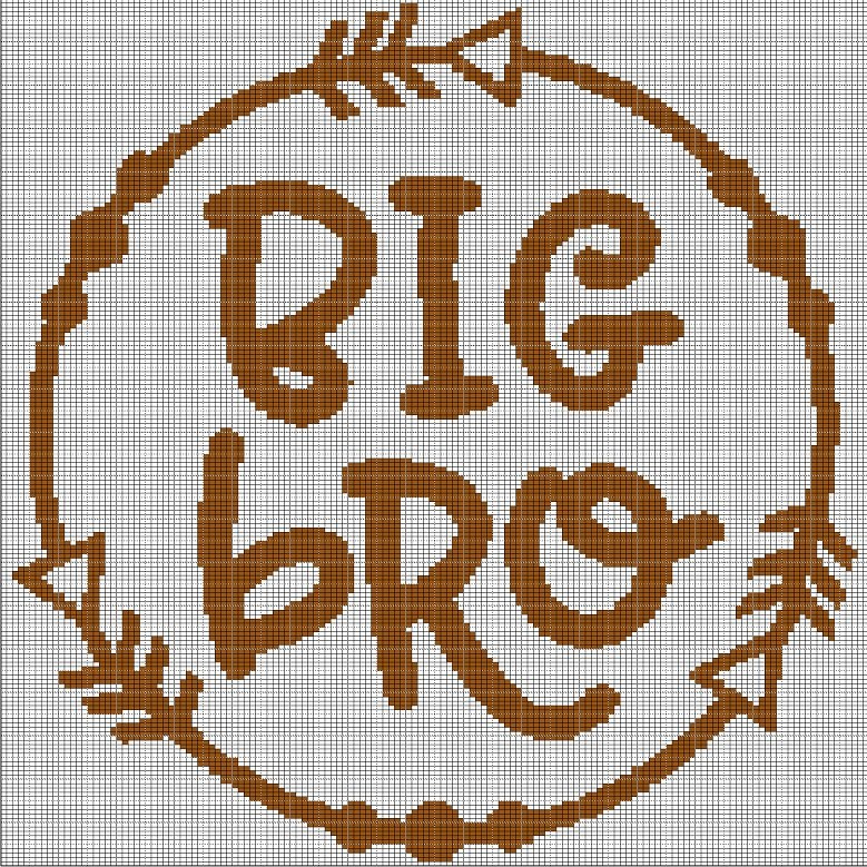 BIG BRO CROCHET AFGHAN PATTERN GRAPH