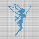 BLUE FAIRY CROCHET AFGHAN PATTERN GRAPH
