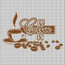 COFFEE 5 CROCHET AFGHAN PATTERN GRAPH