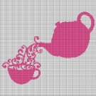 CUP OF TEA 2 CROCHET AFGHAN PATTERN GRAPH