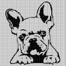 DOG HEAD 8 CROCHET AFGHAN PATTERN GRAPH