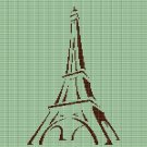 EIFFEL TOWER CROCHET AFGHAN PATTERN GRAPH