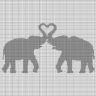 ELEPHANT LOVE CROCHET AFGHAN PATTERN GRAPH