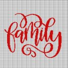 FAMILY 2 CROCHET AFGHAN PATTERN GRAPH
