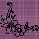 FLOWERS 4 CROCHET AFGHAN PATTERN GRAPH