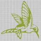 FLYING HUMMINGBIRD CROCHET AFGHAN PATTERN GRAPH