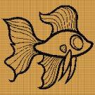 GOLDEN FISH 3 CROCHET AFGHAN PATTERN GRAPH
