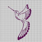 HUMMINGBIRD 3 CROCHET AFGHAN PATTERN GRAPH