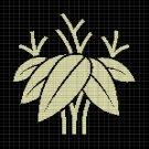 JAPANESE PLANT CROCHET AFGHAN PATTERN GRAPH