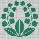 JAPANESE PLANT 2 CROCHET AFGHAN PATTERN GRAPH