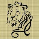 LION HEAD 6 CROCHET AFGHAN PATTERN GRAPH