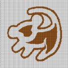 LION KING SYMBOL CROCHET AFGHAN PATTERN GRAPH