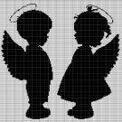 LITTLE ANGELS CROCHET AFGHAN PATTERN GRAPH