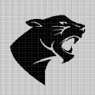 PANTHER HEAD 2 CROCHET AFGHAN PATTERN GRAPH