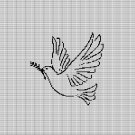 PEACE SYMBOL CROCHET AFGHAN PATTERN GRAPH