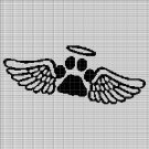 PET ANGEL CROCHET AFGHAN PATTERN GRAPH