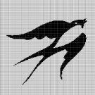 SWALLOW 2 CROCHET AFGHAN PATTERN GRAPH