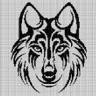 WOLF HEAD 8 CROCHET AFGHAN PATTERN GRAPH
