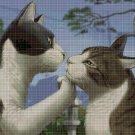 Cat lifestyles 5 cross stitch pattern in pdf DMC