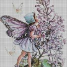 Flower fairy 30 cross stitch pattern in pdf DMC