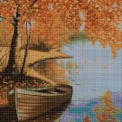 Autumn at the rivers 2 cross stitch pattern in pdf DMC
