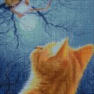 Cat and mouse cross stitch pattern in pdf DMC