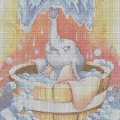 Dumbo cross stitch pattern in pdf DMC