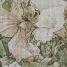 Flower fairy 35 cross stitch pattern in pdf DMC