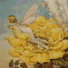 Flower fairy 36 cross stitch pattern in pdf  DMC