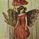 Flower fairy 37 cross stitch pattern in pdf  DMC