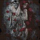 Forever Love cross stitch pattern in pdf DMC