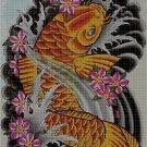 Koi fish 3 cross stitch pattern in pdf DMC