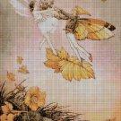 Flower fairy 39 cross stitch pattern in pdf  DMC