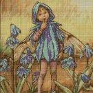 Flower fairy 41 cross stitch pattern in pdf  DMC